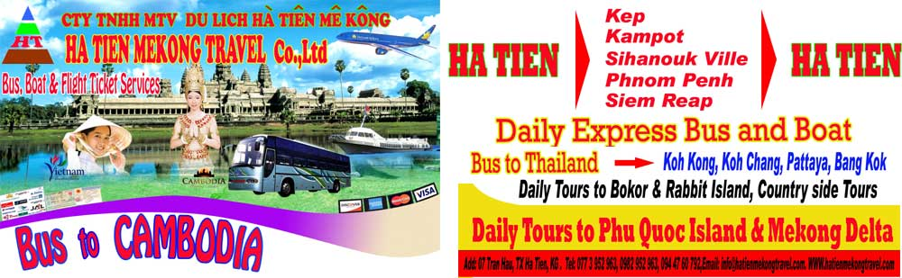 Ha Tien Mekong Travel, Ha Tien tour, Vietnam